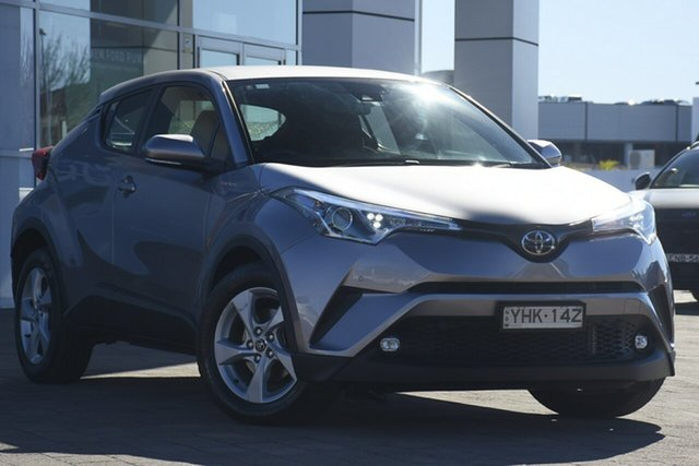 Pre-Owned Toyota C-HR NGX10R S-CVT 2WD Warwick Farm, 2017 Toyota C-HR NGX10R S-CVT 2WD Silver 7 Speed Constant Variable SUV