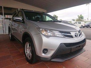 2014 Toyota RAV4 ASA44R MY14 Upgrade GX (4x4) Silver Pearl 6 Speed Automatic Wagon.