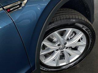 2021 Volkswagen Tiguan 5N MY21 132TSI Comfortline DSG 4MOTION Allspace Blue 7 Speed