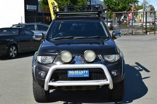 2012 Mitsubishi Triton MN MY12 GLX-R (4x4) Grey 5 Speed Manual 4x4 Double Cab Utility.