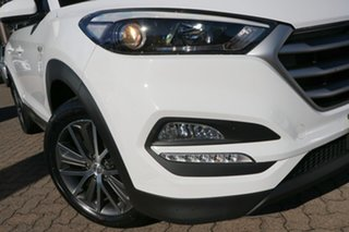 2016 Hyundai Tucson TL Active X (FWD) White 6 Speed Automatic Wagon.