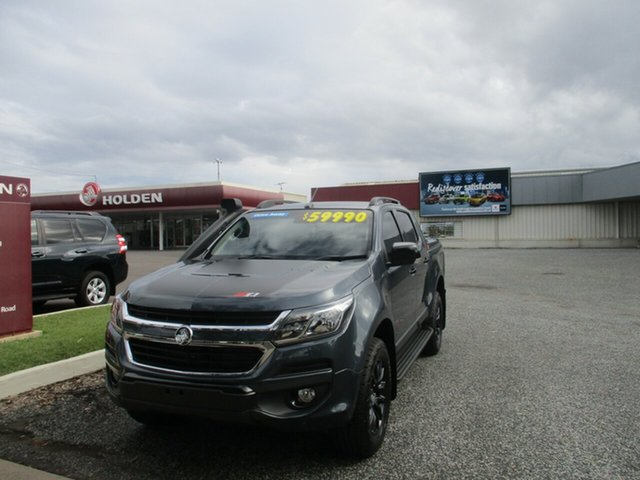 Used Holden Colorado RG MY20 Z71 Pickup Crew Cab North Rockhampton, 2019 Holden Colorado RG MY20 Z71 Pickup Crew Cab Grey 6 Speed Sports Automatic Utility