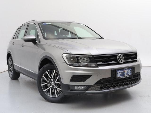 Used Volkswagen Tiguan 5NA MY18 132 TSI Comfortline, 2018 Volkswagen Tiguan 5NA MY18 132 TSI Comfortline Silver 7 Speed Auto Direct Shift Wagon