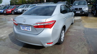 2014 Toyota Corolla ZRE172R Ascent S-CVT Silver 7 Speed Constant Variable Sedan