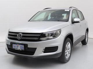 2014 Volkswagen Tiguan 5NC MY14 118 TSI (4x2) Silver 6 Speed Direct Shift Wagon.