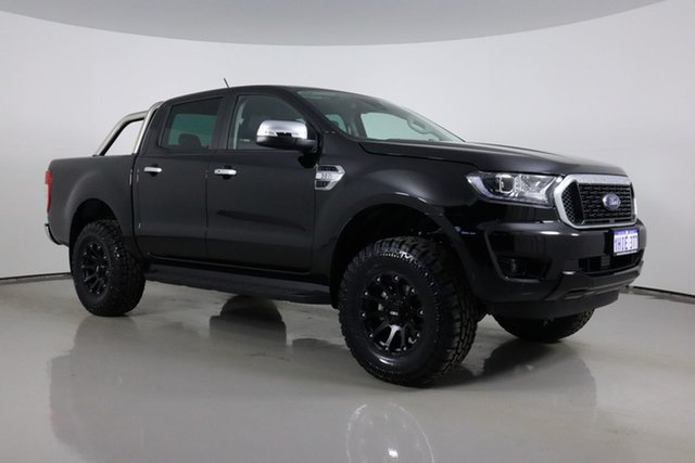Used Ford Ranger PX MkIII MY21.25 XLT 3.2 (4x4) Bentley, 2021 Ford Ranger PX MkIII MY21.25 XLT 3.2 (4x4) Black 6 Speed Automatic Double Cab Pick Up