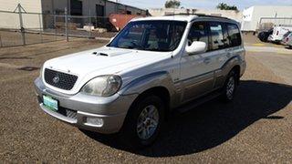 2006 Hyundai Terracan CRDi White 4 Speed Automatic Wagon