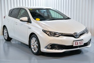 2016 Toyota Corolla ZWE186R MY16 Hybrid White Continuous Variable Hatchback