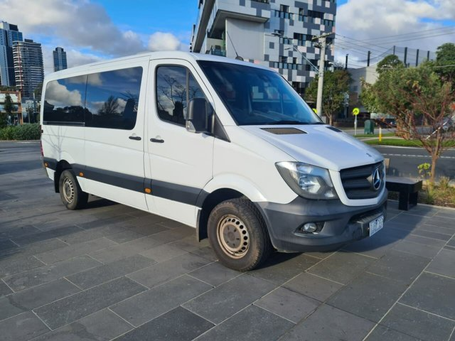 Used Mercedes-Benz Sprinter NCV3 MY14 316CDI Low Roof MWB 7G-Tronic South Melbourne, 2014 Mercedes-Benz Sprinter NCV3 MY14 316CDI Low Roof MWB 7G-Tronic White 7 Speed Sports Automatic