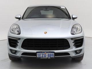2016 Porsche Macan MY16 S Diesel Silver 7 Speed Auto Dual Clutch Wagon.