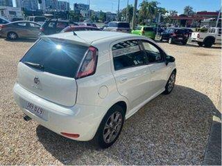 2013 Fiat Punto MY13 Lounge White 5 Speed Automated Manual Hatchback