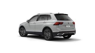 2021 Volkswagen Tiguan 5N MY21 147TDI Elegance DSG 4MOTION Pure White 7 Speed.