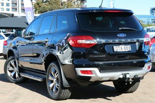 2017 Ford Everest UA MY18 Titanium (4WD) Black 6 Speed Automatic SUV.