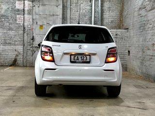 2018 Holden Barina TM MY18 LS White 6 Speed Automatic Hatchback