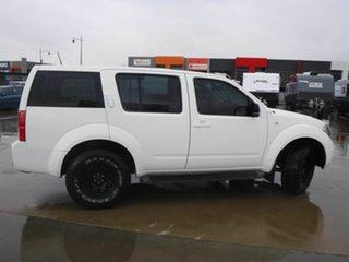 2008 Nissan Pathfinder R51 MY08 ST White 5 Speed Sports Automatic Wagon.
