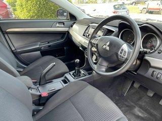 2013 Mitsubishi Lancer CJ MY14 ES Red 5 Speed Manual Sedan
