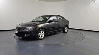 2009 Mazda 3 BK MY08 Neo Sport Black Mica 4 Speed Auto Activematic Sedan