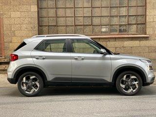 2020 Hyundai Venue QX.V3 MY21 Active Typhoon Silver 6 Speed Automatic Wagon.