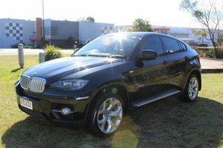 2009 BMW X6 E71 xDrive35d Coupe Steptronic Black 6 Speed Sports Automatic Wagon.