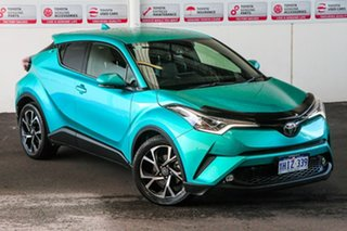 2018 Toyota C-HR NGX10R Update Koba (2WD) Electric Teal Continuous Variable Wagon.