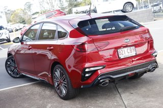 2020 Kia Cerato BD MY21 GT DCT Runway Red 7 Speed Sports Automatic Dual Clutch Hatchback.