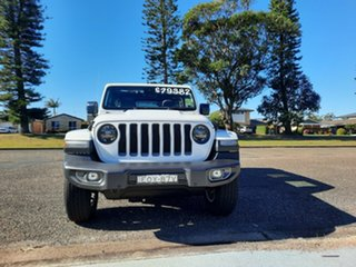 2021 Jeep Wrangler JL MY21 Unlimited 80th Anniversary Bright White 8 Speed Automatic Convertible