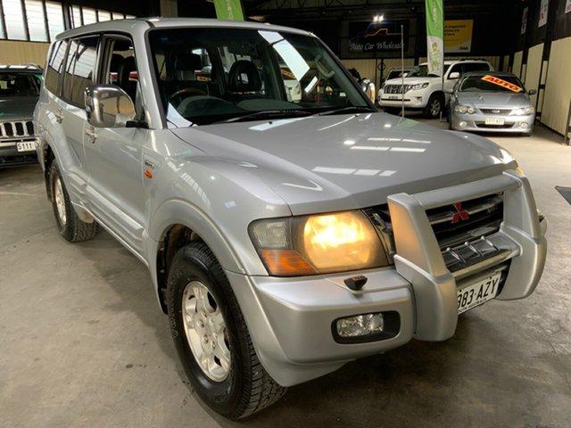Used Mitsubishi Pajero NM MY2002 Exceed Hampstead Gardens, 2001 Mitsubishi Pajero NM MY2002 Exceed Silver 5 Speed Sports Automatic Wagon