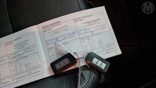 2012 Mitsubishi Lancer CJ MY12 VR-X Blue 5 Speed Manual Sedan