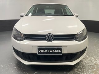 2014 Volkswagen Polo 6R MY14 Trendline DSG Candy White 7 Speed Sports Automatic Dual Clutch.