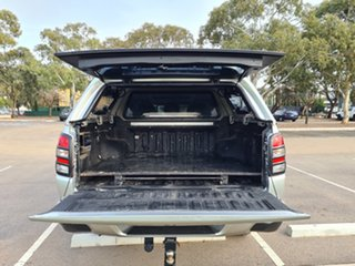 2017 Mitsubishi Triton MQ MY17 Exceed Double Cab Silver 5 Speed Sports Automatic Utility