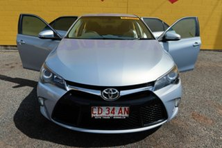 2017 Toyota Camry ASV50R Atara S Blue 6 Speed Sports Automatic Sedan.