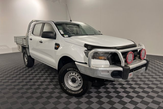 Used Ford Ranger PX MkII 2018.00MY XL Acacia Ridge, 2018 Ford Ranger PX MkII 2018.00MY XL White 6 speed Automatic Cab Chassis