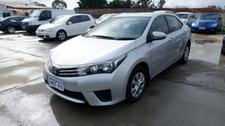 2014 Toyota Corolla ZRE172R Ascent S-CVT Silver 7 Speed Constant Variable Sedan.