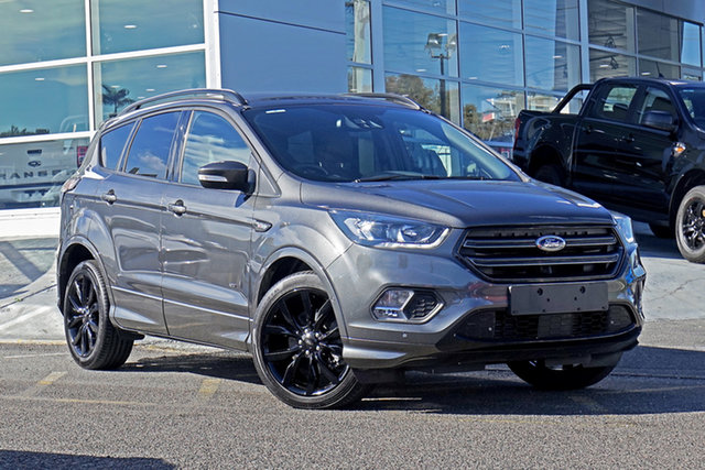 Used Ford Escape ZG 2018.75MY ST-Line Springwood, 2018 Ford Escape ZG 2018.75MY ST-Line Magnetic 6 Speed Sports Automatic SUV