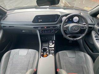 2021 Hyundai Sonata DN8.V1 MY21 N Line DCT Midnight Black 8 Speed Automatic Sedan