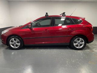 2012 Ford Focus LW Trend PwrShift Candy Red 6 Speed Sports Automatic Dual Clutch Hatchback