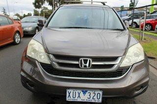 2010 Honda CR-V RE MY2010 4WD Grey 5 Speed Automatic Wagon.