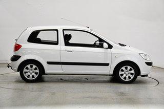 2008 Hyundai Getz TB MY07 S Noble White 4 Speed Automatic Hatchback