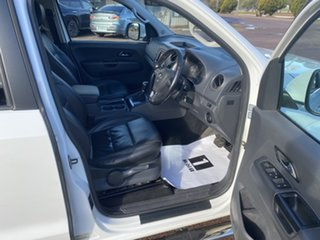2013 Volkswagen Amarok 2H MY13 TDI420 Ultimate (4x4) White 8 Speed Automatic Dual Cab Utility