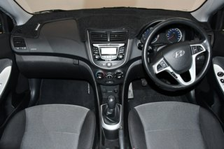 2012 Hyundai Accent RB Active Black 5 Speed Manual Hatchback