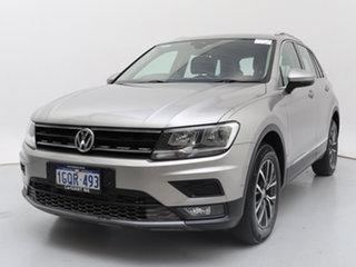 2018 Volkswagen Tiguan 5NA MY18 132 TSI Comfortline Silver 7 Speed Auto Direct Shift Wagon.