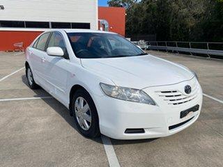 2007 Toyota Camry ACV40R Altise White 5 Speed Automatic Sedan.