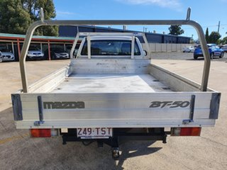 2013 Mazda BT-50 UP0YD1 XT 4x2 Highlight Silver 6 Speed Manual Cab Chassis