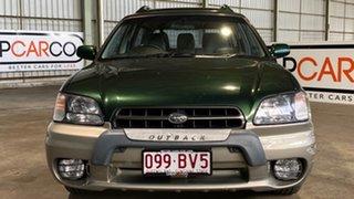 2000 Subaru Outback B3A MY00 Limited D/Range AWD Green 5 Speed Manual Wagon