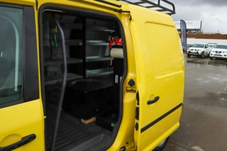 2014 Volkswagen Caddy 2KN MY15 TDI250 BlueMOTION Maxi DSG Yellow 7 Speed.