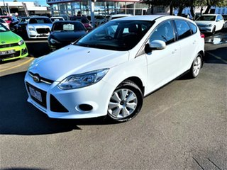 2014 Ford Focus LW MkII Ambiente PwrShift White 6 Speed Sports Automatic Dual Clutch Hatchback.