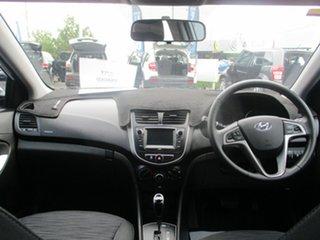 2017 Hyundai Accent RB6 MY18 Sport White 6 Speed Automatic Sedan