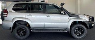 2008 Toyota Landcruiser Prado KDJ120R GXL Silver 5 Speed Automatic Wagon.