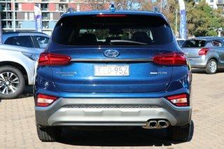 2019 Hyundai Santa Fe TM WG MY19 Highlander Blue Automatic Wagon