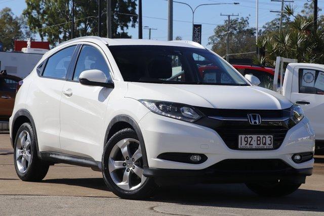 Used Honda HR-V MY15 VTi-S Bundamba, 2015 Honda HR-V MY15 VTi-S White 1 Speed Constant Variable Hatchback
